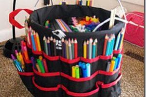 Getting Organized Monday: Portable Art Studio
