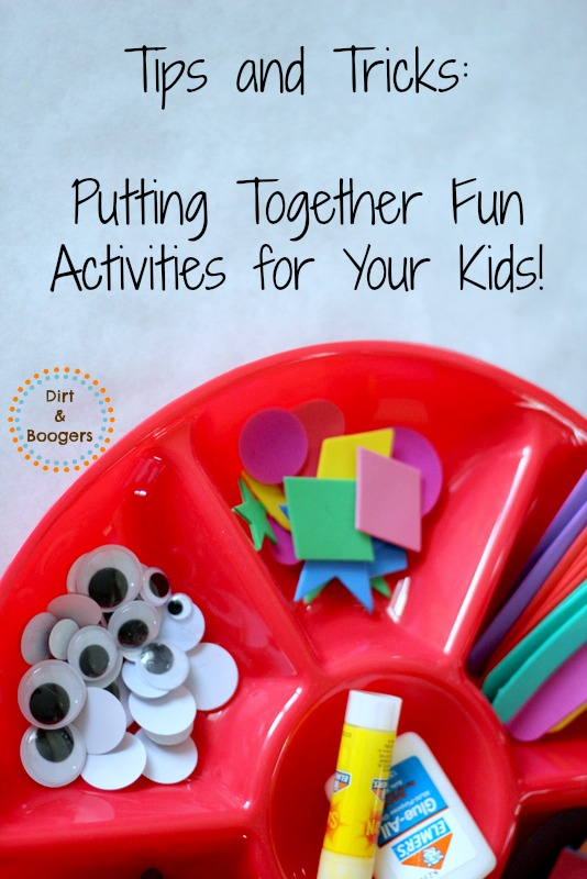 Put Together Fun Activities for Kids