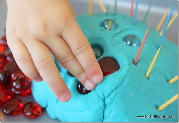 playdough toothpick