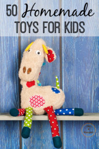 50 DIY Awesome Handmade Toys just for kids. This post is full of great gift ideas for all kids!
