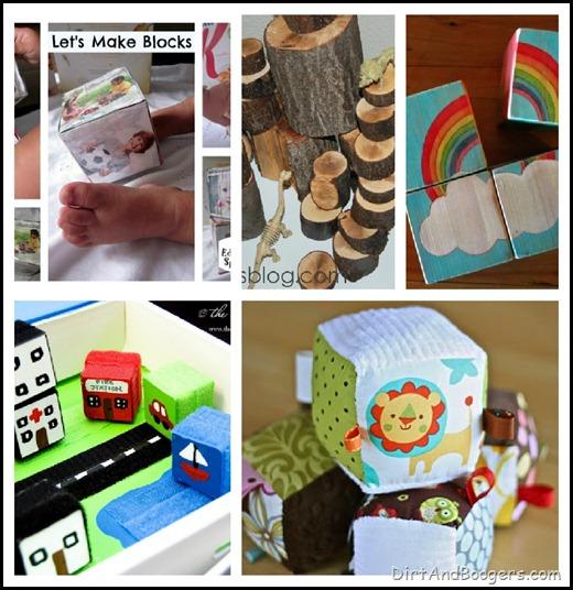 Blocks, diy toys, handmade toys, kids
