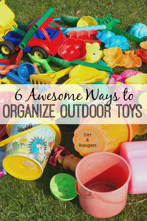 Beau I Love These Great Tips For Organizing Outdoor Toys. Especially Number 3!