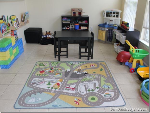 playroom redo, kids' toys, organizing