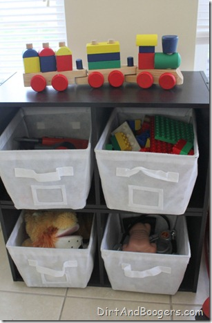 playroom redo, kid's toys, organzing toys