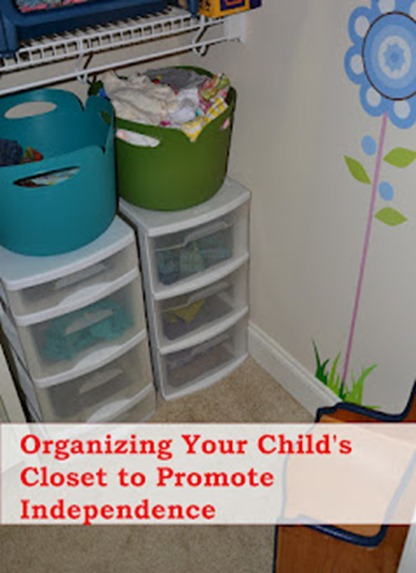 Get organized kid s clothes How to organize your clothes without a closet