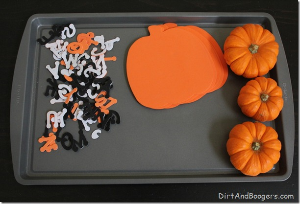 Invitations to Play: Fall Pumpkins