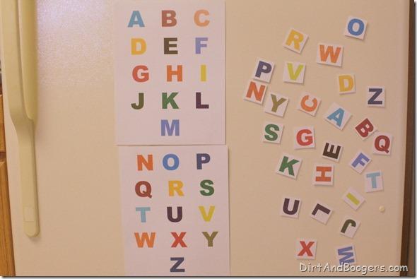 ABC, alphabet, matching game, toddler