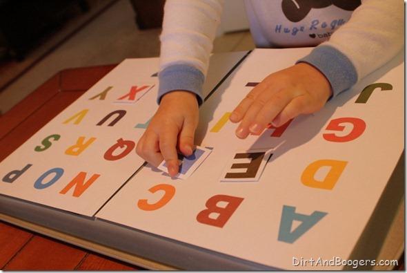 ABC, alphabet, matching, toddler, game