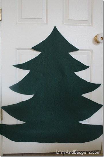 felt christmas tree, children, christmas, kids