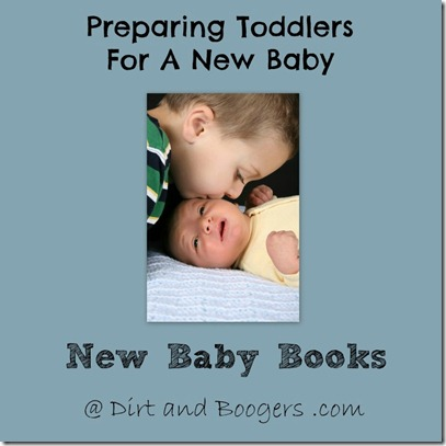 Toddlers, Preparing for new baby, baby books