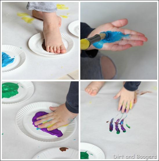 big art sensory painting