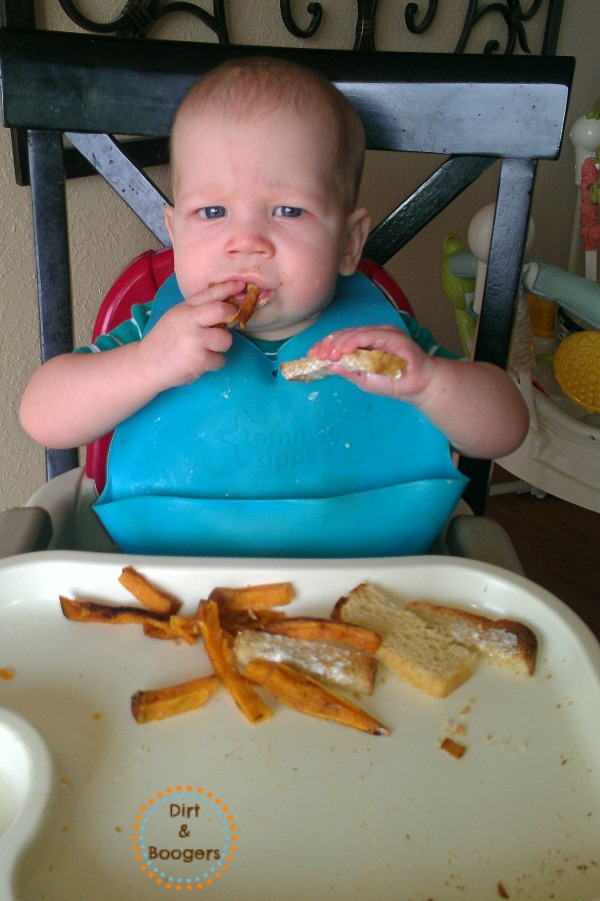 Baby Led Weaning How to do it and a lookback at the adventure of feeding baby without using purees