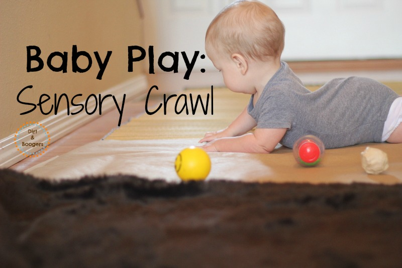 A fun sensory experience for little crawlers