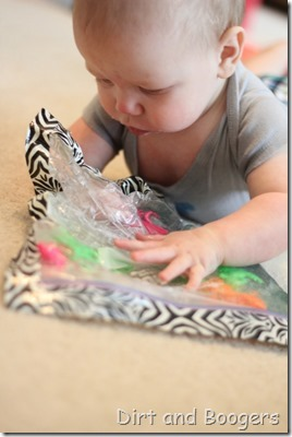 Baby Sensory Bag: probably the best baby toy ever!
