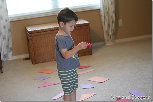 Preschool Play: Color Shape River