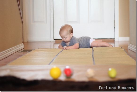 Baby Play: Sensory Crawl