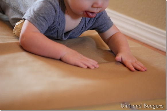 Baby Play: Sensory Crawl