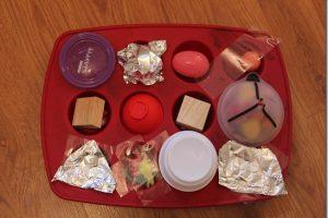Muffin Tin Treasure Hunt