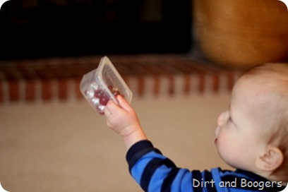 DIY Discovery Shakers for Babies