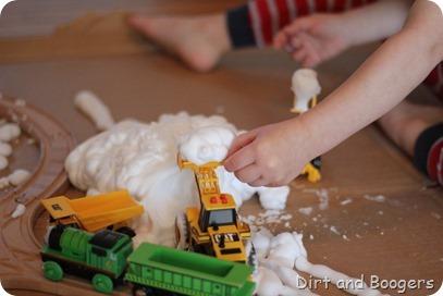 Build a Snowy Railroad