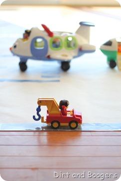Make an Airplane Runway for Kids