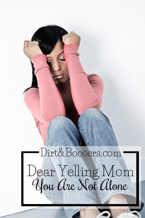 Dear Yelling Mom, You're Not Alone