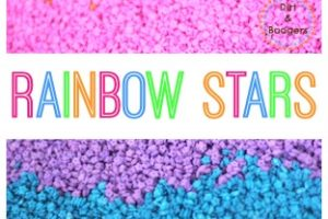 Rainbow Stars – A Bright Sensory Activity for Kids