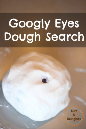 Googly Eyes Play Dough Search