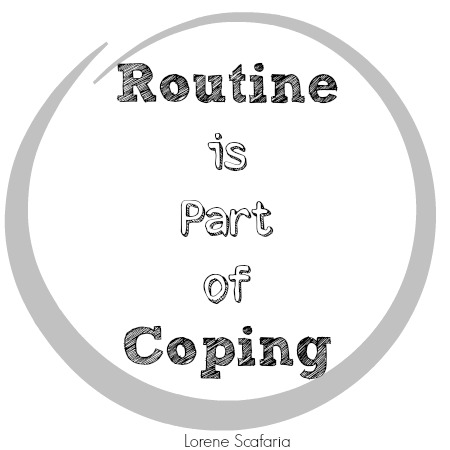 Avoiding Power Struggles - Routine is Part of Coping