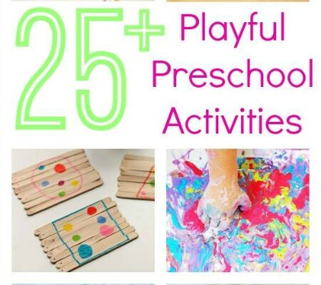 Three to Five :: Playful Preschool. A book full of play activities for preschoolers.