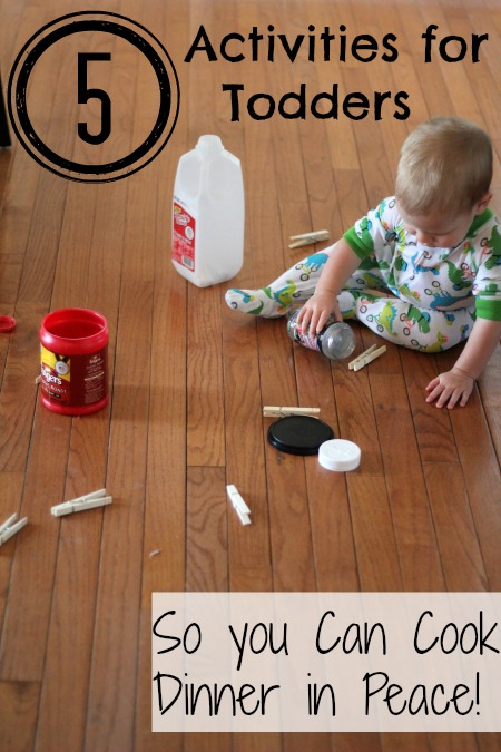 5 Simple Activities for Toddlers