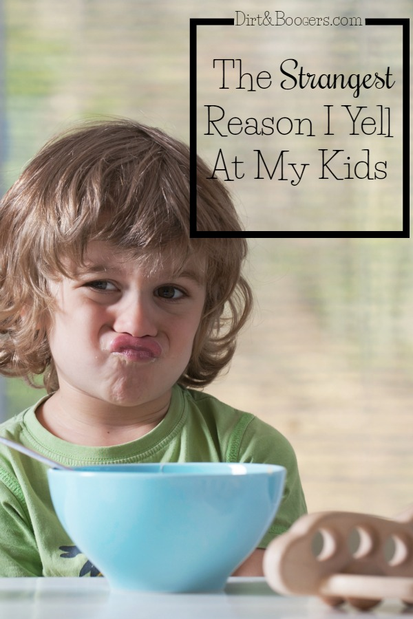 Who know this is a reason why we yell at our kids? It makes sense though...
