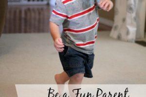 Be a Playful Parent, Have a Dance Party!