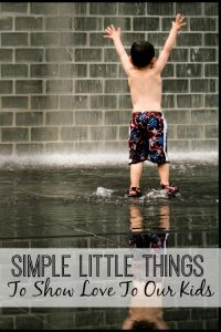 Simple little things for kids
