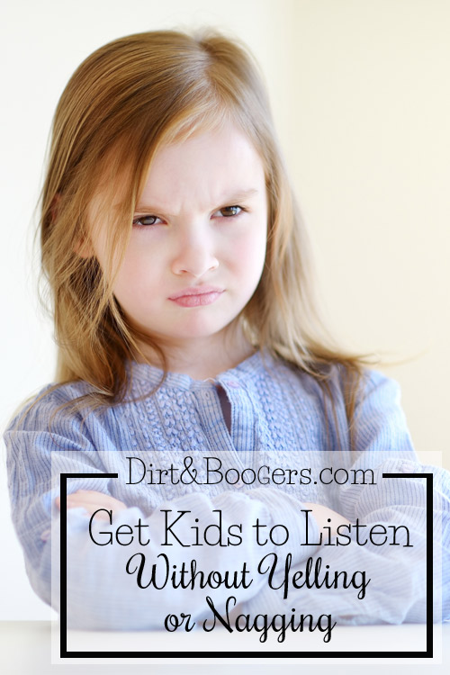 Tips to get kids to listen without yelling or nagging.
