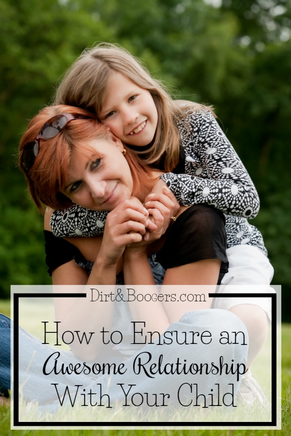 Some great tips for protecting your relationships with your kids.  parenting tips | motherhood