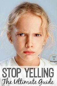 Everything you need to know to stop yelling at your kids. Full of positive parenting tips, and proven methods to stop yelling.