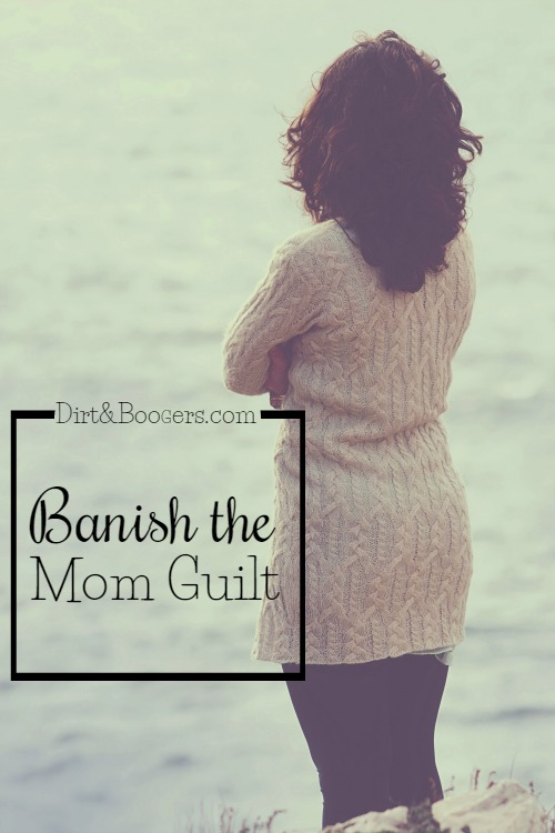 It really is a simple tip to banish the mom guilt. motherhood|parenting tips