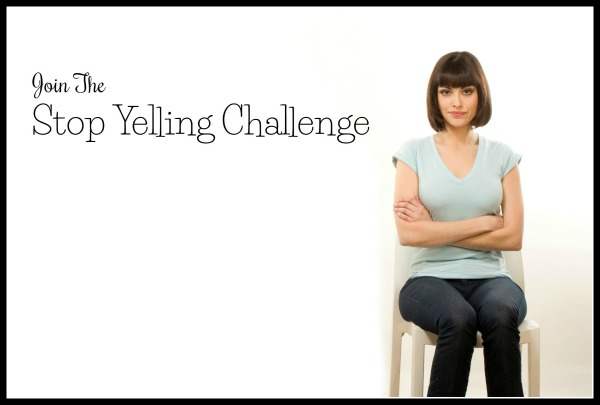 join the stop yelling challenge - border