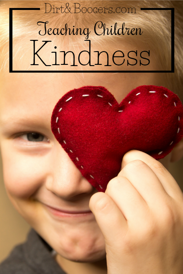 Some great parenting tips that teach children how to be kind.