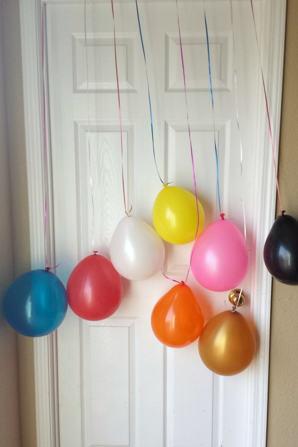 birthday balloons, making a child's birthday special