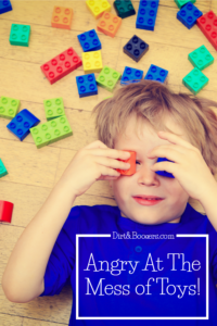 Have you ever felt angry because your clean house has been transformed into a messy house because of your children's toys. Yeah...me too. This is a good perspective and filled with great parenting tips.