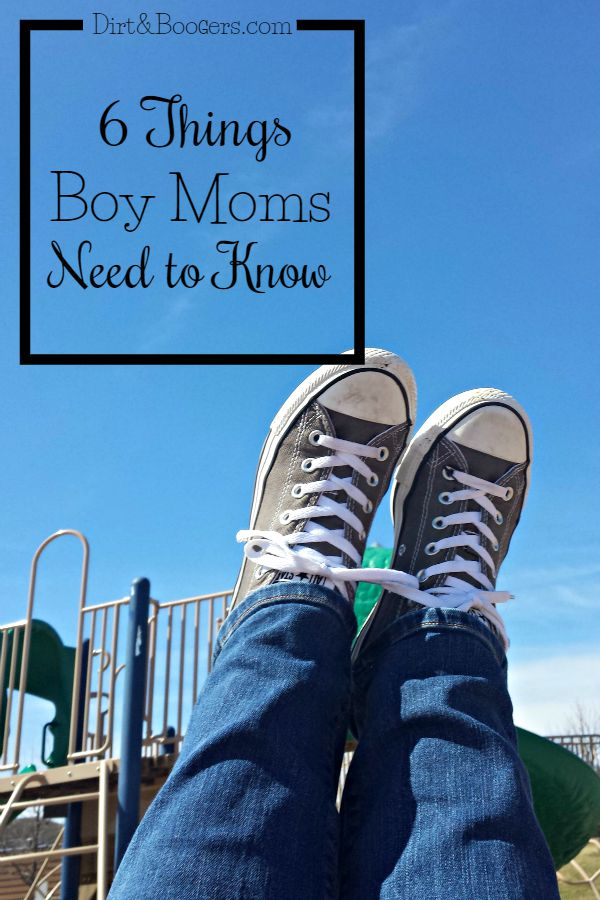 Every Mom of Boys needs to read this, especially #2!