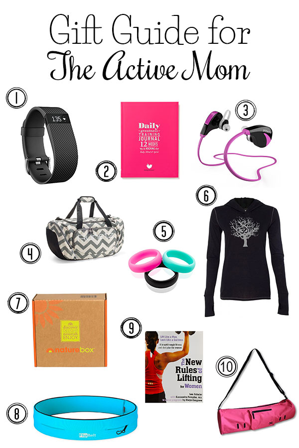 The Ultimate Gift Guide for the Active Mom