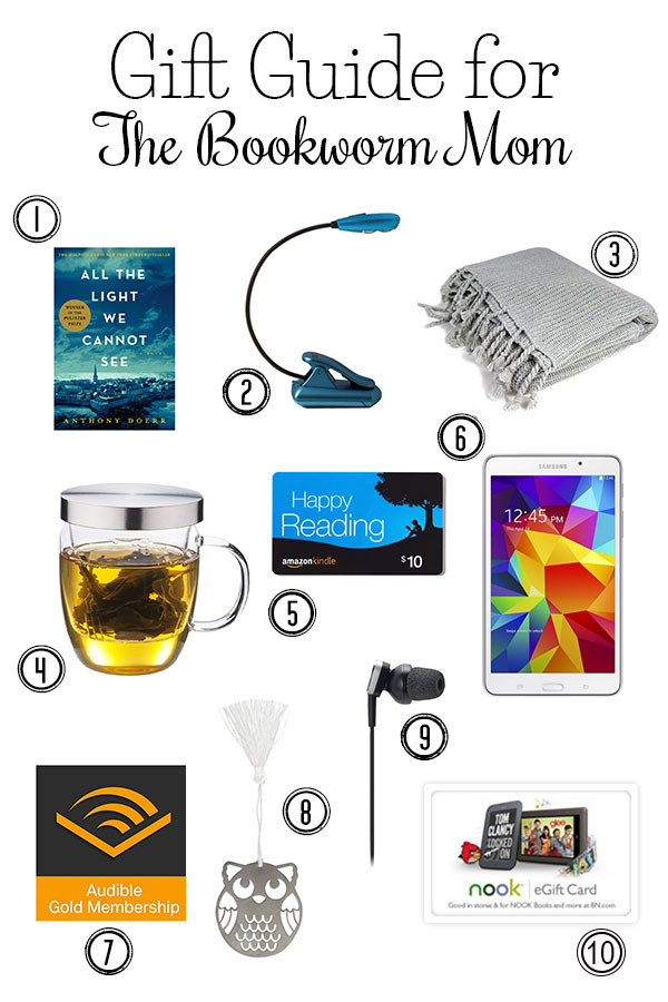 The Ultimate Gift Guide for the Bookworm Mom