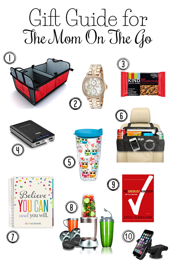 The Ultimate Gift Guide for the Mom On the Go