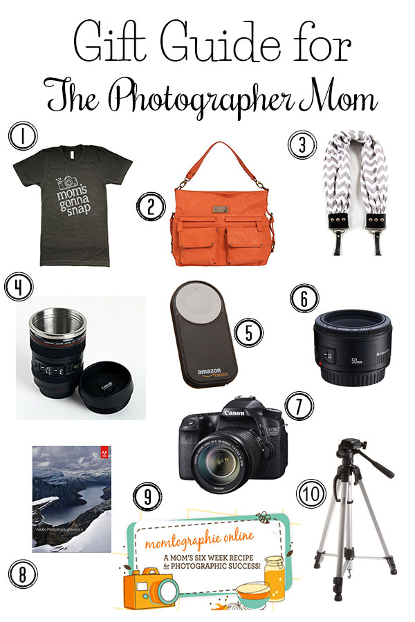 The Ultimate Gift Guide for the Photographer Mom