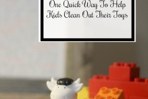 Get The Toys Out of Here: One Quick Way To Help Kids Get Rid of Stuff