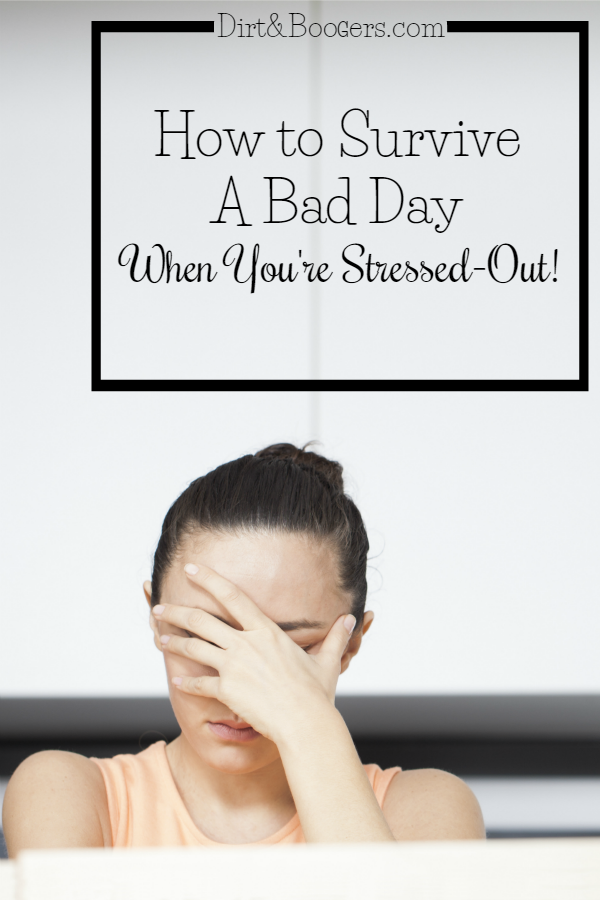 This is totally me! How to survive a bad day when you're totally stressed out. The second tip is amazing!