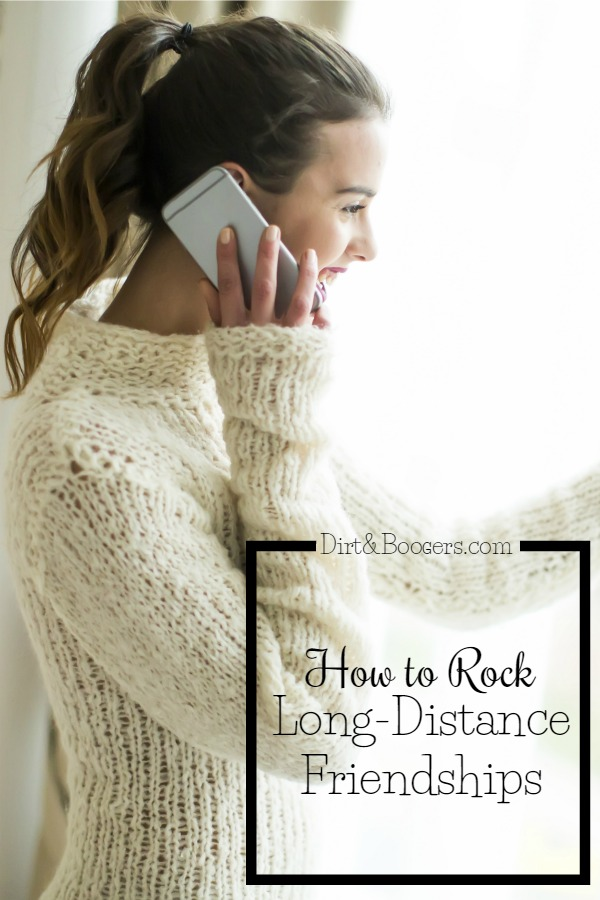 5 Really great tips to keep long-distance friendships alive and healthy.  #3 is great!